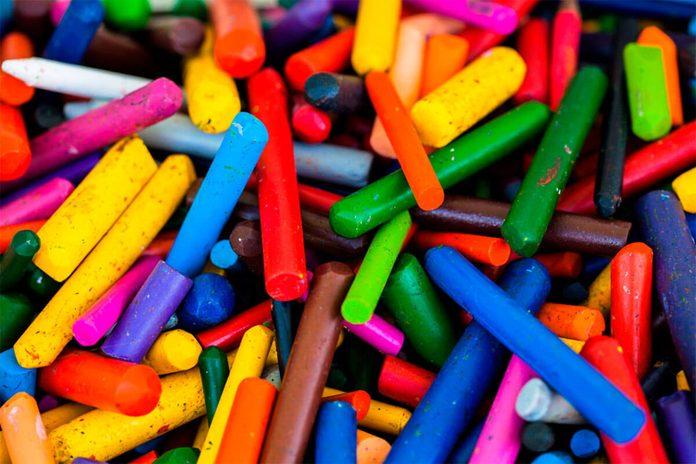broken crayons