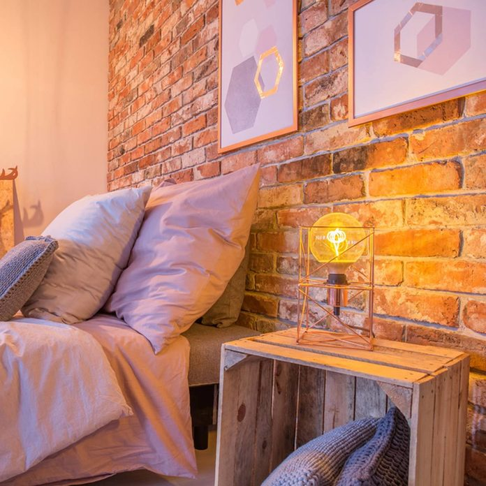 Pallet Bedroom Nightstand