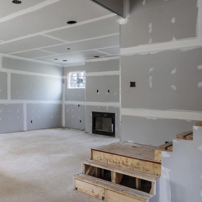 Remodel the Basement unfinished basement