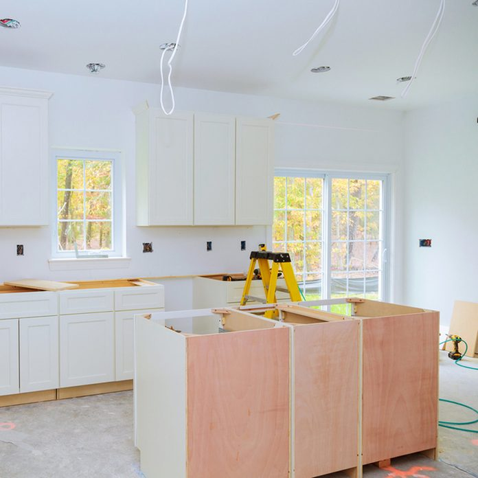 Build Your Own Island Kitchen remodel