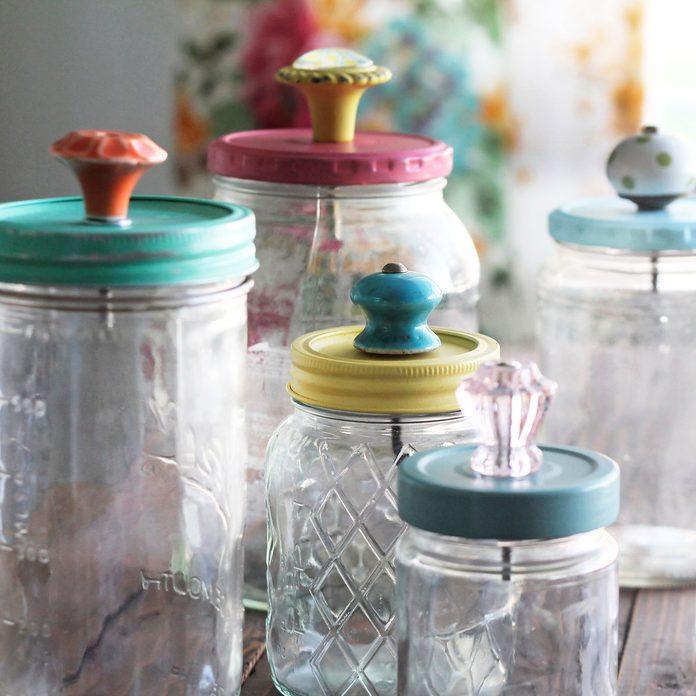 DIY upgraded storage jars