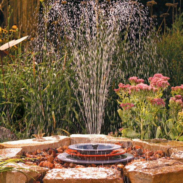 soothing fountain tall spray