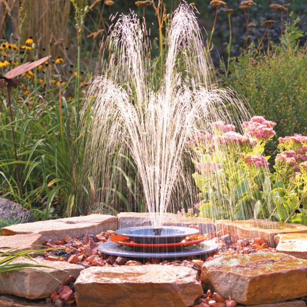 soothing fountain spray pattern