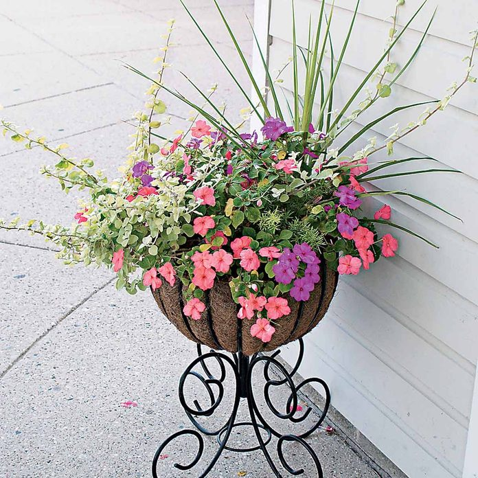 standing flower container