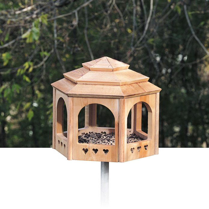 gazebo for the birds bird house