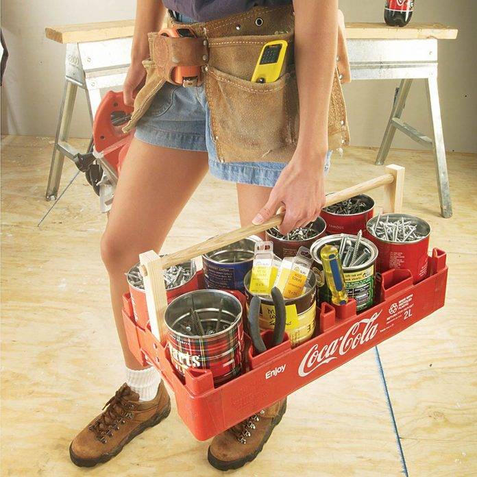 jumbo fastener tote coke eight pack carrier
