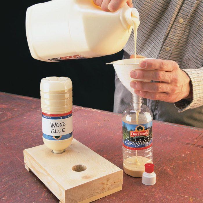 glue dispensers water bottle
