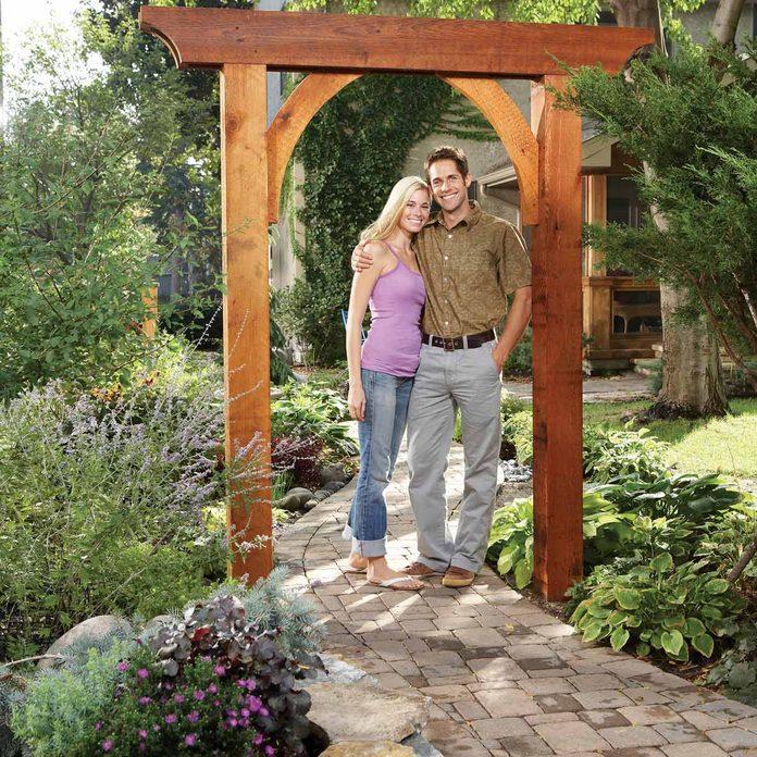 DIY wooden arch wedding diy wooden wedding arch