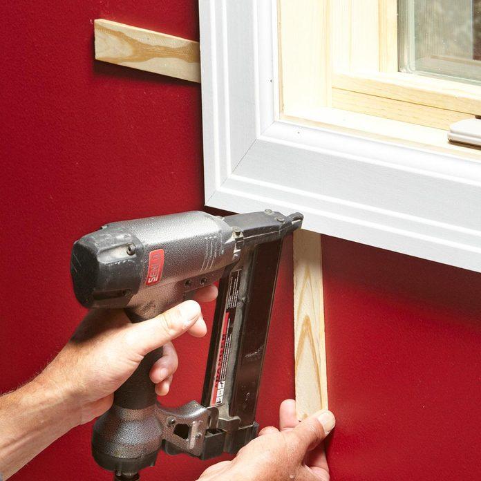 drywall to low on window trim