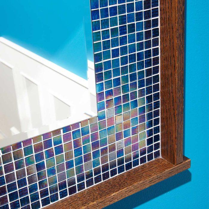 glass tile mirror frame