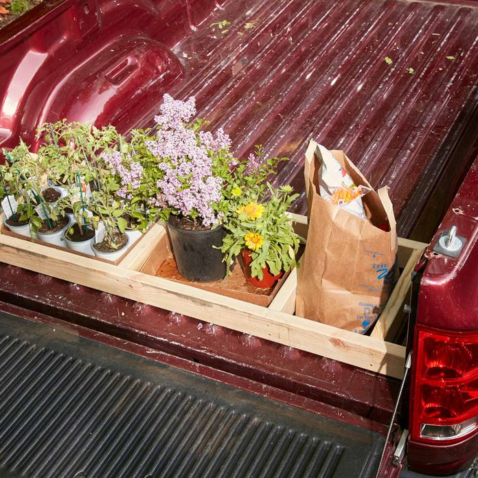 truck bed plant caddy