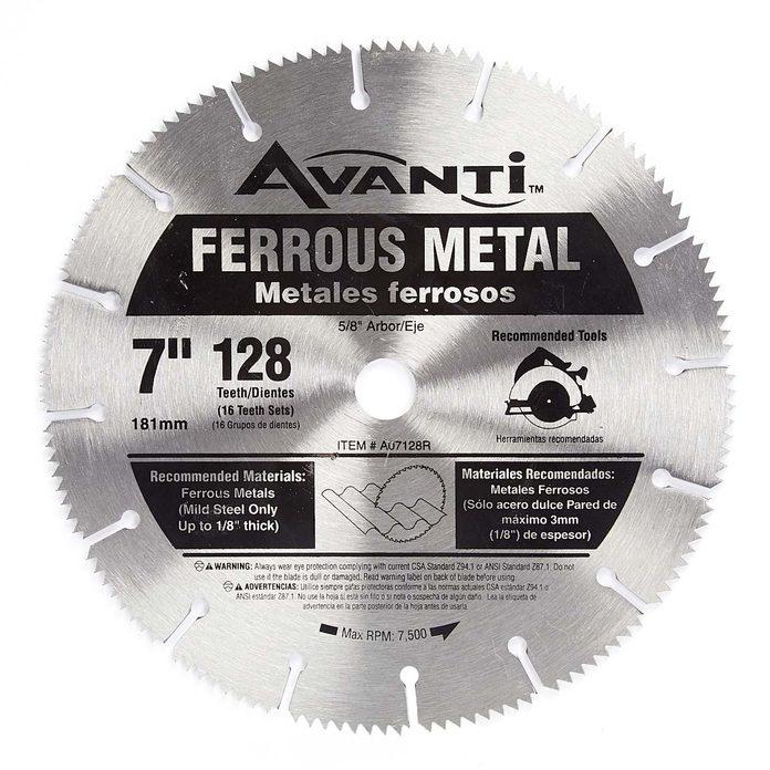 cutting metal safely saw blade