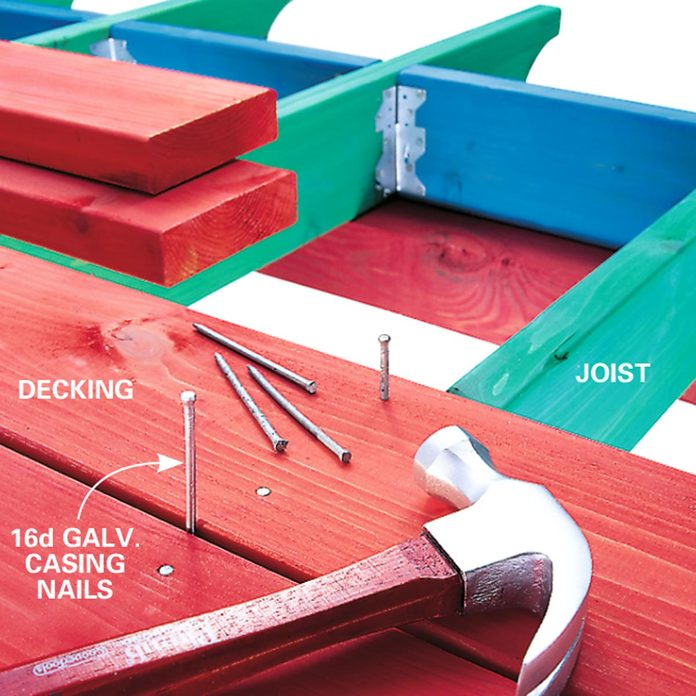 simple deck nails