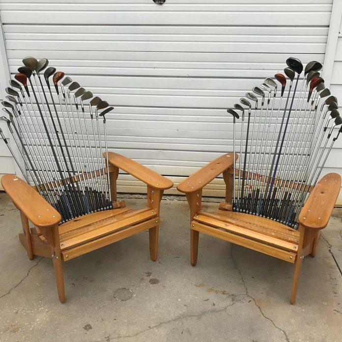 golf club chair