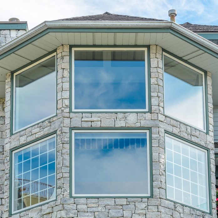 Exterior house windows