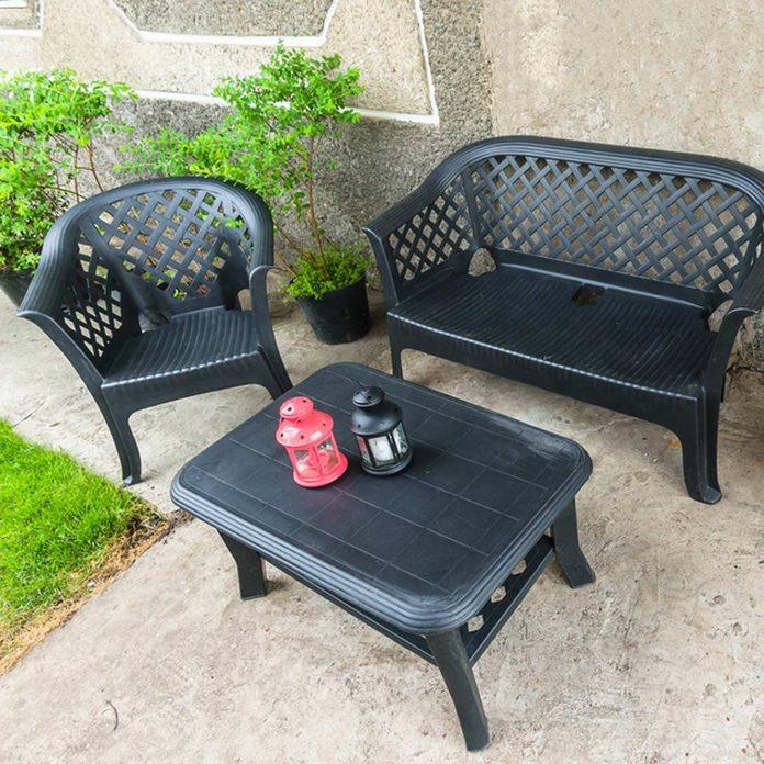 cheap plastic patio furniture