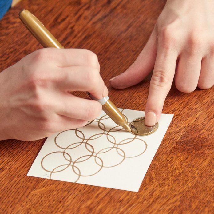 DIY-Art-overlapping-circular-pattern
