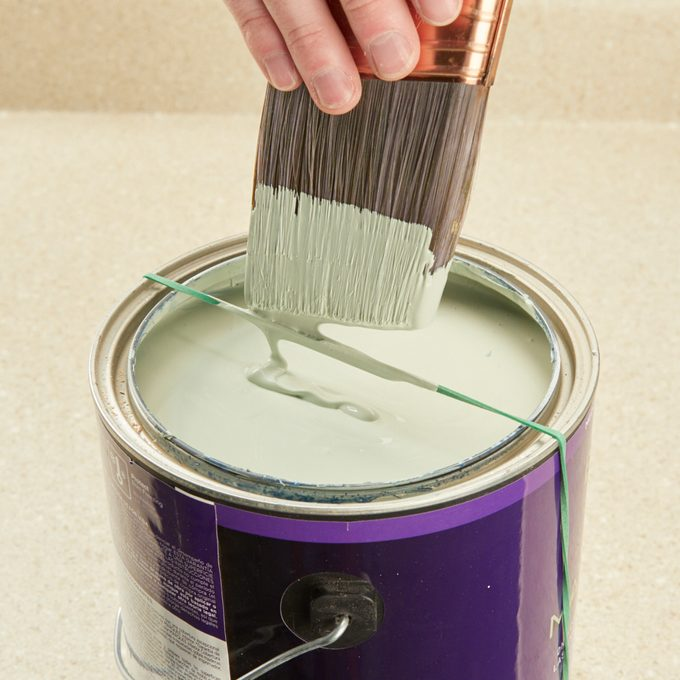 Rubber Band Paint Can