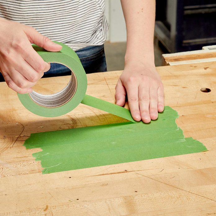 HH painters tape mixing surface