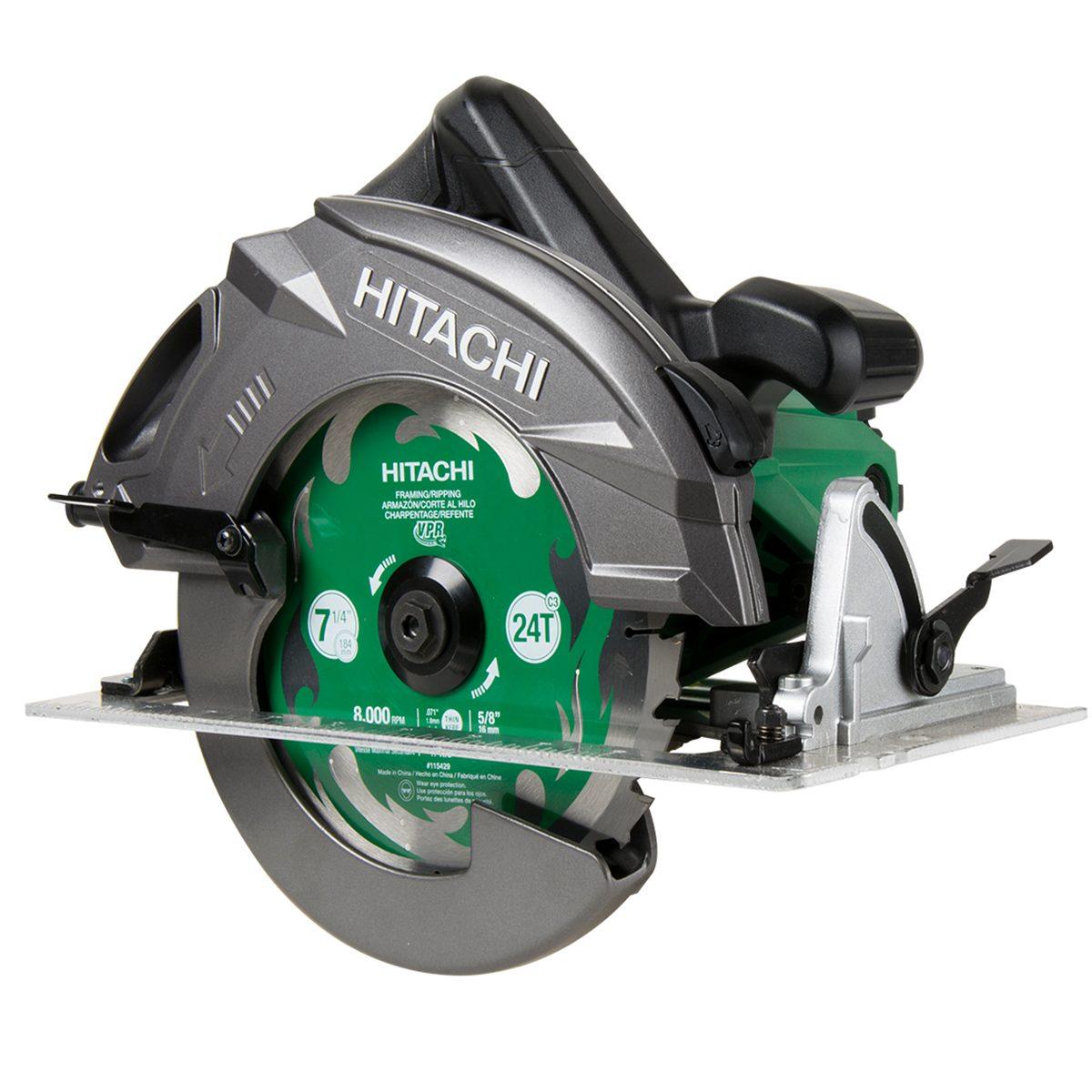 Green and Grey Hitachi Circular Saw | Construction Pro Tips