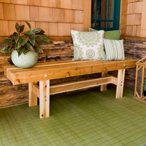 Saturday Morning Workshop: Outdoor Trestle Bench