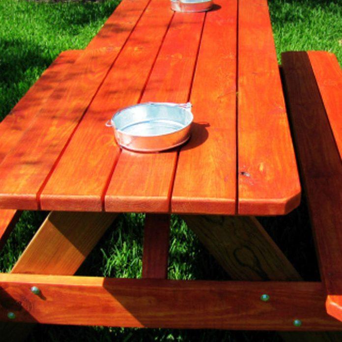 bucket table