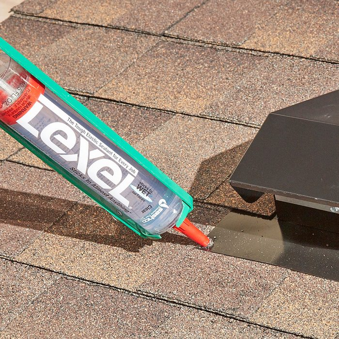 Caulking around roof vents and shingles   Construction Pro Tips