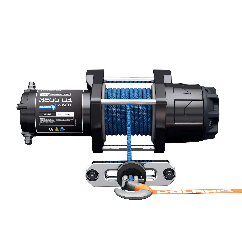 Polaris Pro HD 3500 Pound Winch | Construction Pro Tips