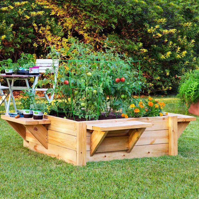 raised bed benches