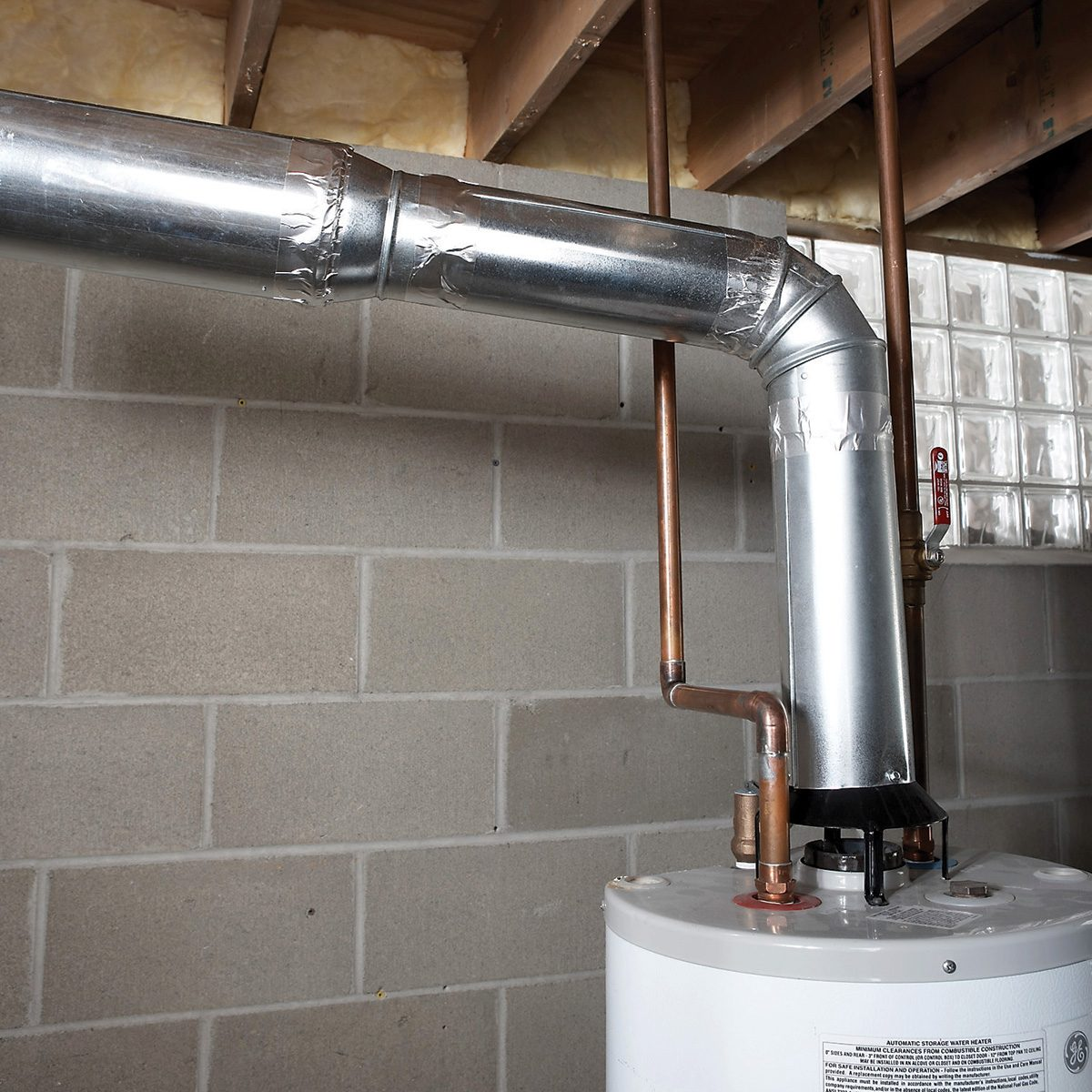 Water heater vent