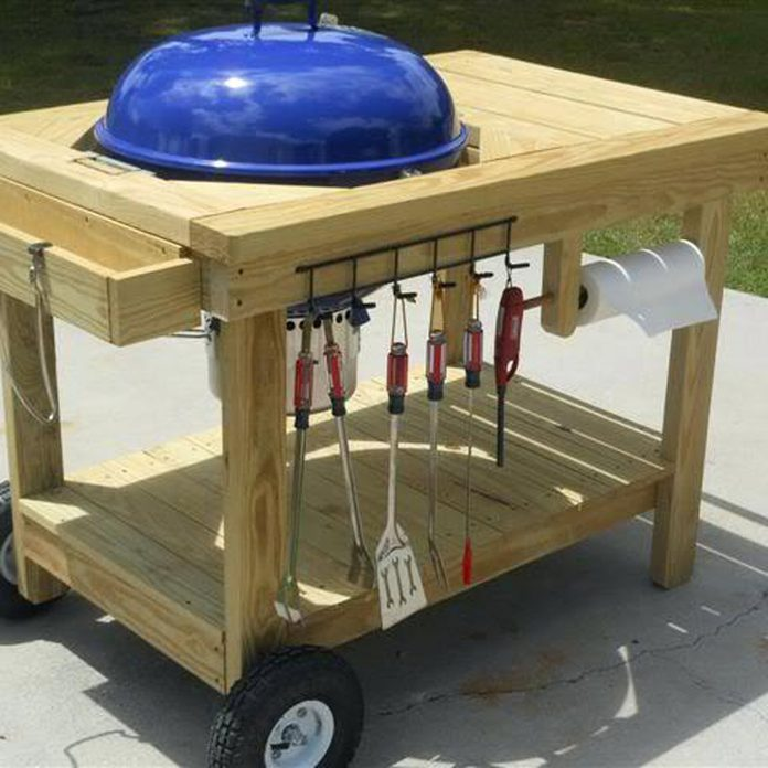 weber kettle work table