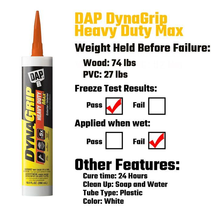 DAP DynaGrip Heavy Duty Max