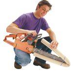 Quick Chain Saw Blade Guard