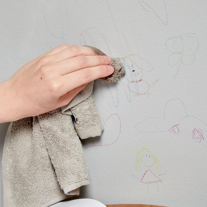 Remove Crayon Marks From Wall