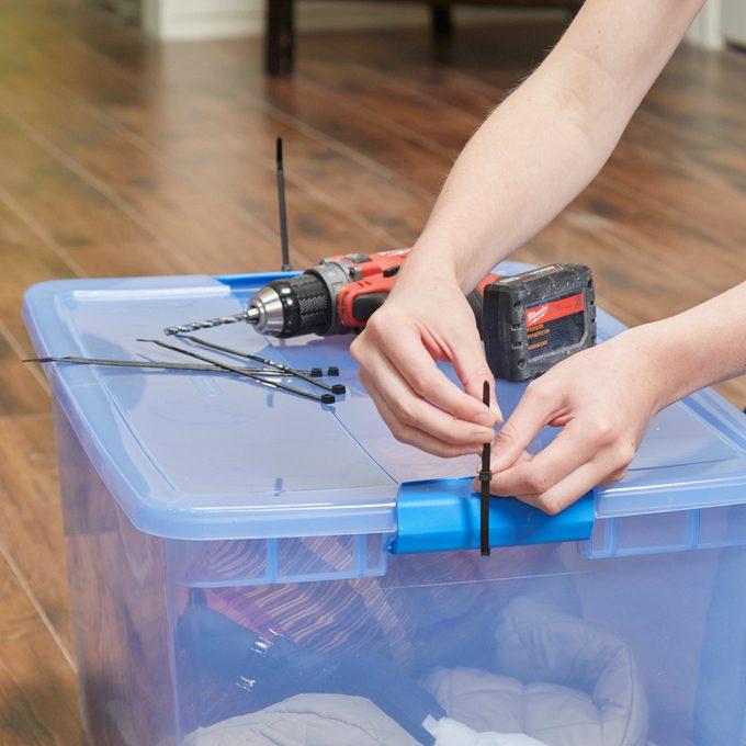 Secure Moving Bins 1 zip-tie HH