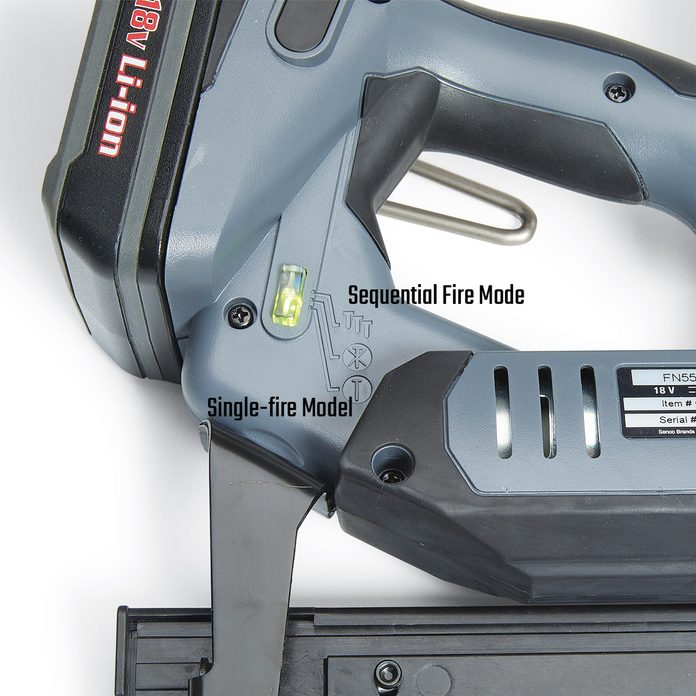 Brad Nailer with Sequential Firing   Construction Pro Tips