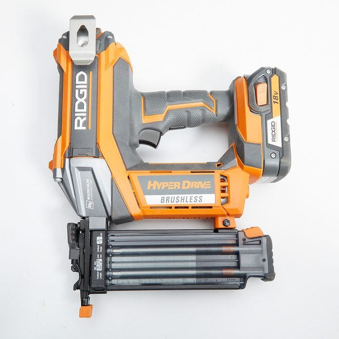 Ridgid Brad Nailer Featuring Dry Fire Lockout   Construction Pro Tips