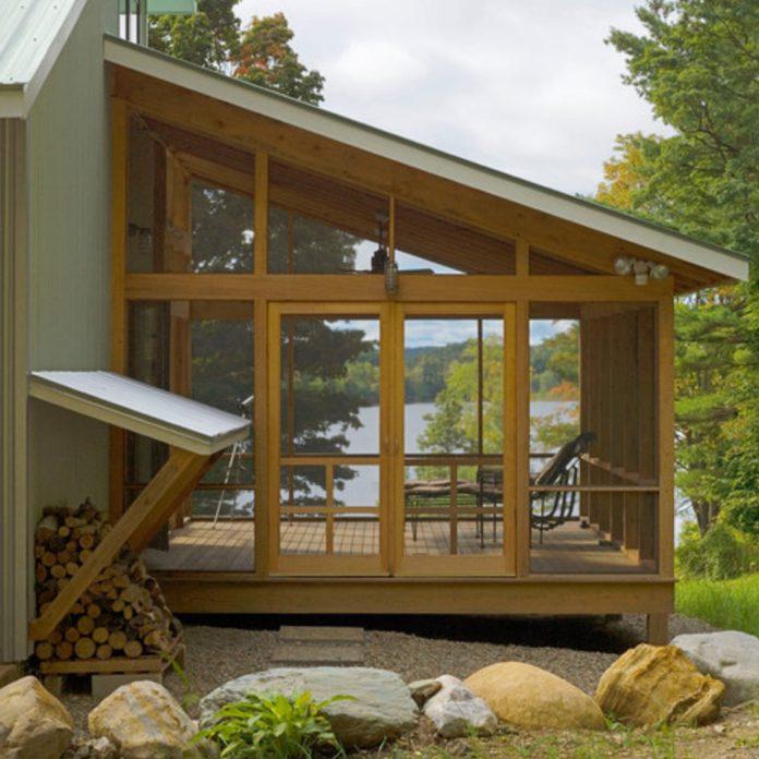 lake porch