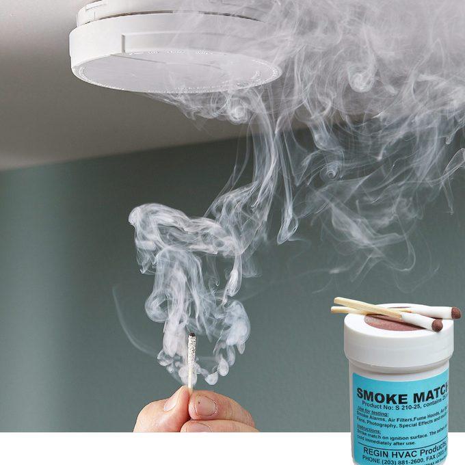 smoke matches smoke detector