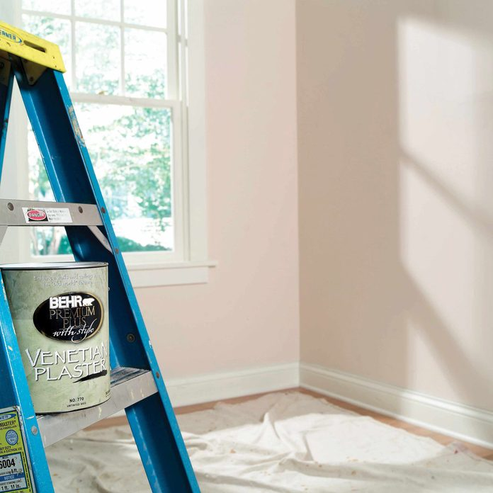 before prepping a room for painting