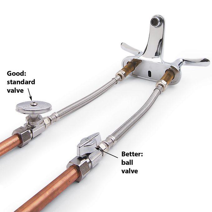 ball valve vs standard valve