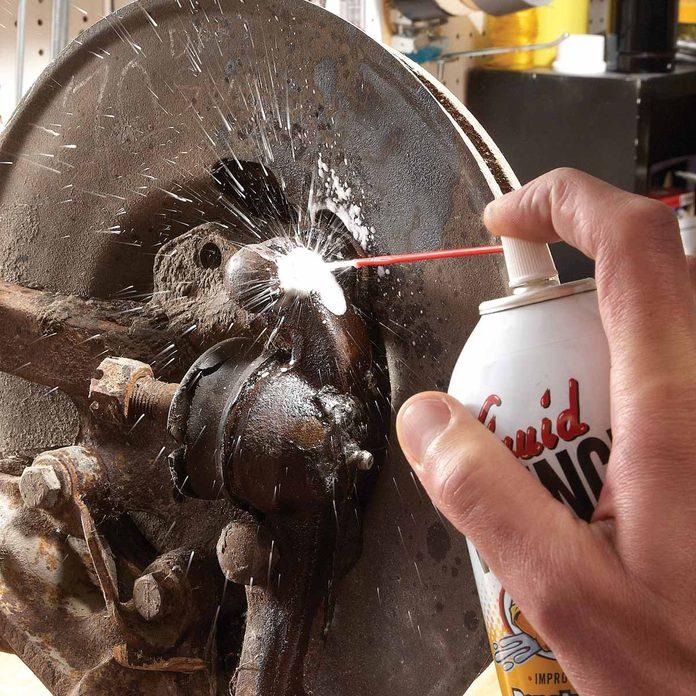 stuck bolts wd 40