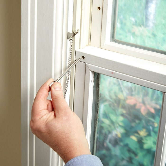 simple window lock pin hole how to secure windows