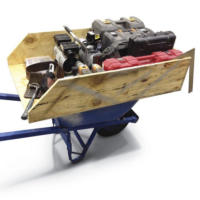 wheelbarrow topper