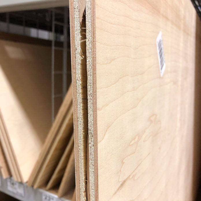 inspect plywood edges void