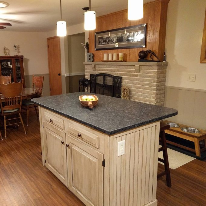 Kitchen remodel after picture