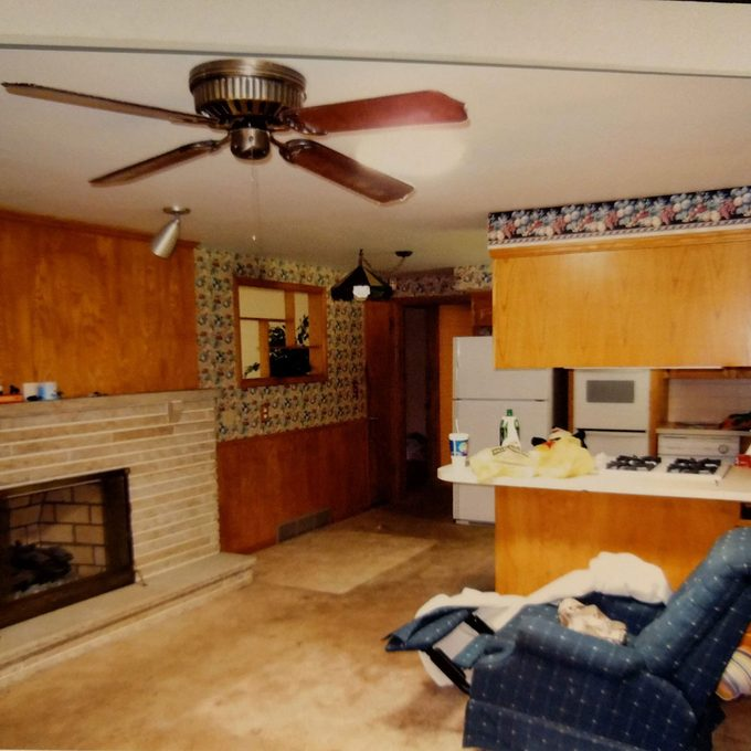 Kitchen remodel before picture