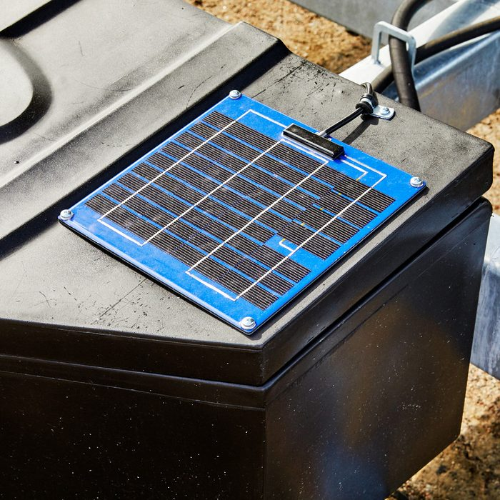Solar panel charging option   Construction Pro Tips