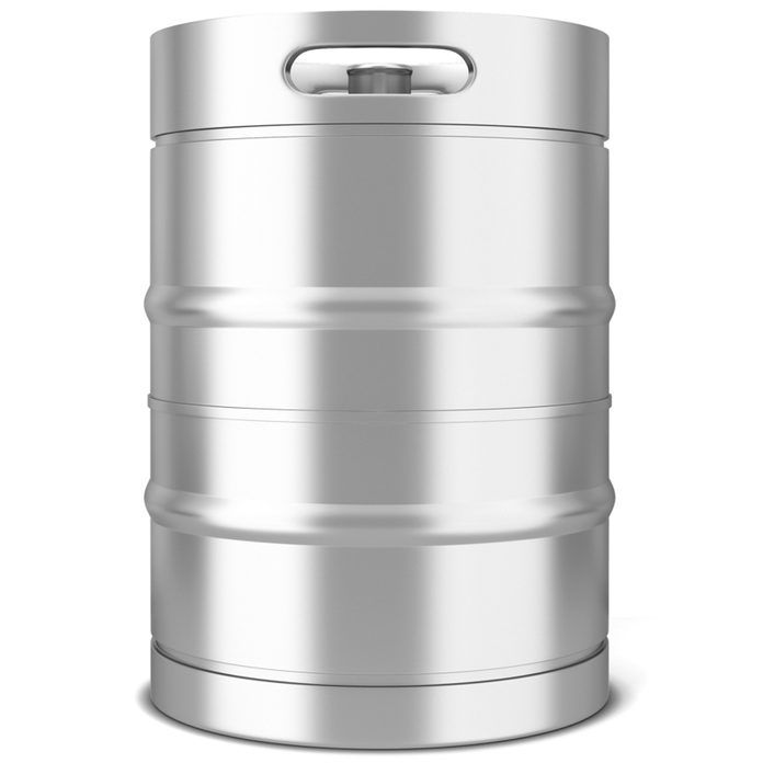 Stainless steel drum container water storage