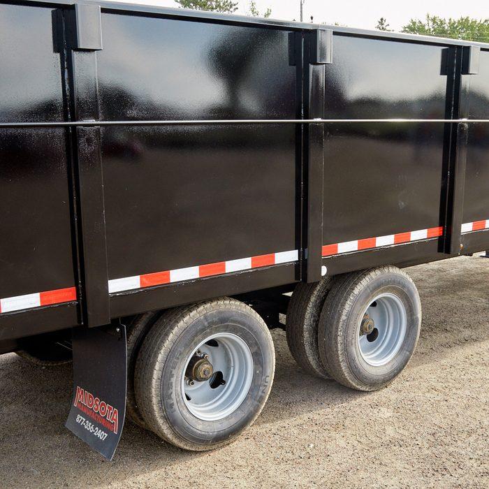A deckover trailer   Construction Pro Tips